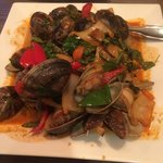 Little Neck Clams Thai style
