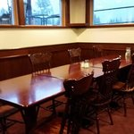 Interior seating, Peaks Lodge  |  Rte 1, Revelstoke, British Columbia, Canada