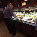 Salad bar -  Place got too busy to take any more pics