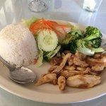 Garlic Chicken Lunch Special