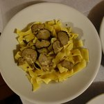 pasta and truffle; very good