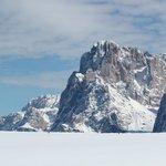 Meravigliosa vista della Montagna