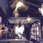 Cafetería restaurante muy tranquila