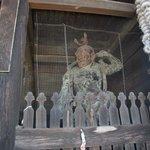仁王門の仁王像