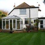 Croftside Conservatory Breakfast Room & Garden