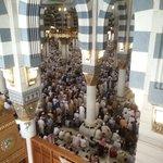 roof of Masjid an-Nabi