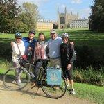 fun with Cambridge Bike Tours
