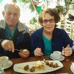 Baklava with Ice Cream & Coffee