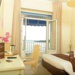 Grand Hôtel de la Plage à Royan - Chambre vue mer