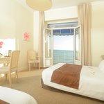 Grand Hôtel de la Plage à Royan - Chambre triple vue mer