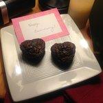 Surprise Anniversary Brownies from Carol