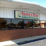 Streetview of Rocco's — an unassuming exterior, but very good food inside