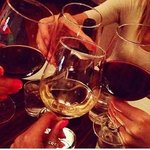 Come and enjoy a glass of wine with friends at Harper's