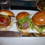 Tasteful trio of burgers