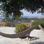 Relaxing hammock