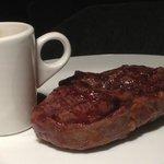 Angus Steak and Pepper sauce