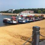 Boat trips on Jingpo Lake