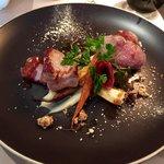 noix de veau rosée Coppa et déclinaison de panais (menu a 38)