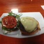 Spicy Lamb Burger w/Cheese