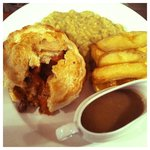 One of our famous pies