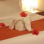 African towel elephant made me smile!