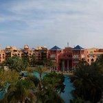 Vue panoramique de l'hôtel