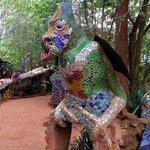 Sculpture at Nanis
