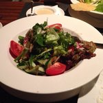 Green salad tasted good!