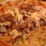 pizza radicchio e pancetta