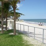 view from the pool deck of the vero beach hotel