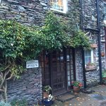 Lower Grisedale Lodge front door