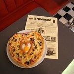 Pizza für Liebespaare