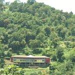 view of mountain behind Calabash Villa