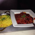 Delicious meal chicken jaflong with special fried rice
