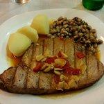 The awesome Tuna steak