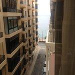 e la vista mare secondo l'hotel