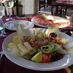 Salat can mateu & Pamboli Mixto