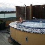 Happy hot tub times