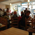 A busy Sunday afternoon at Rambles