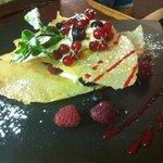 Lasagne aux fruit  rouge