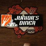 Junior's new sign