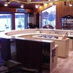 Kitchen area of Cedar Home