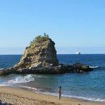 La islita de la playa
