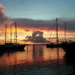 The most amazing sunsets over the marina that you will ever experience