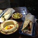 Hummos and Shawarmas