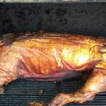 Roasted hog