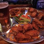 Good Tuesday wing deal. I enjoyed the meaty wings and the kind service at the bar.