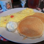Omelet with Pancakes