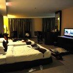 宿泊した部屋です。