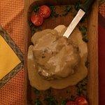 Filet com Gorgonzola!